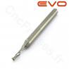 Fraise 1 dent 1.5mm LU 8mm Q 3.175mm EVO