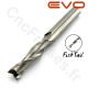 Fraise 2 dents fishtail - Ø 6mm - Longueur utile 25mm - Q 6mm EVO