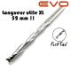 Fraise 2 dents fishtail - Ø 6mm - Longueur utile 52mm - Q 6mm EVO - fraise spéciale lutherie