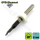 Pointe javelot 1 dent 30° carbure CVD Diamant Pointe 0.1mm Queue 3.175mm