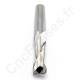 Fraise carbure hélicoïdale 2 dents 8.00 mm Longueur utile 25 mm Fraisage bois