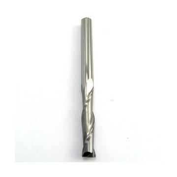Fraise 2 dents 3.17 mm carbure hélicoïdale