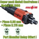 Pack Mafell FM1000 CncFraises