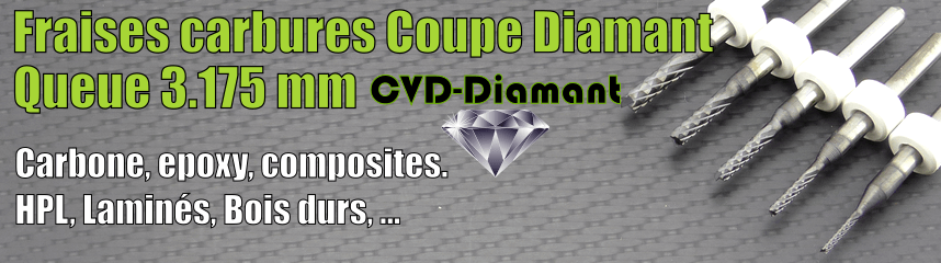 Carbures coupe diamant CVD-D