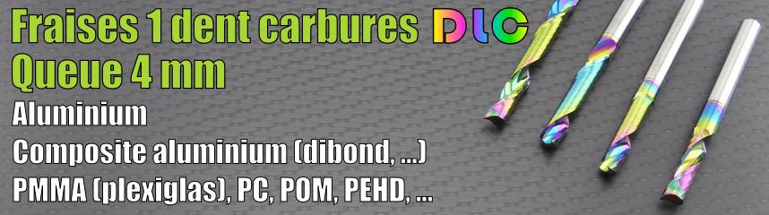 Carbures 1 dent DLC