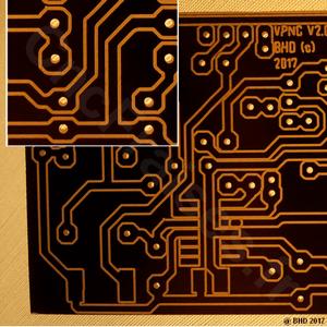 Gravure circuit imprimé avec fraiseuse cnc